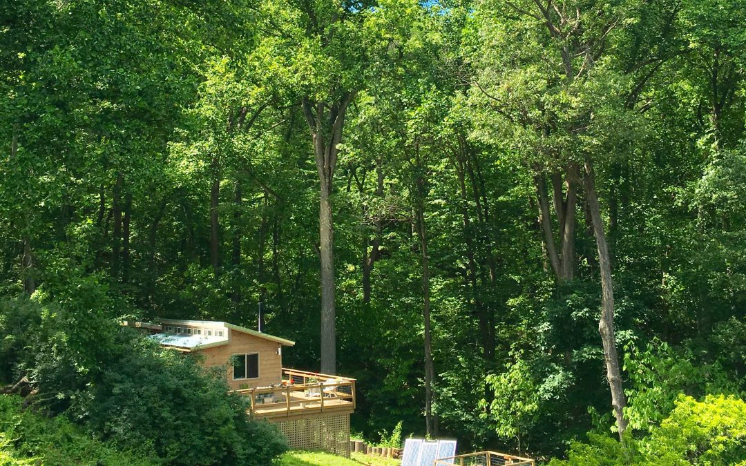60-something couple is living their dreams in a tiny house in the Blue Ridge Mountains