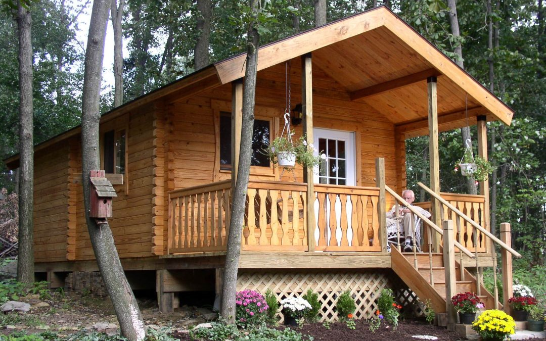 Small Log Cabin Kit Homes Small Log Cabin Floor Plans: Log Cabin Kit Manufacturer, Conestoga, Offers DIYers A New