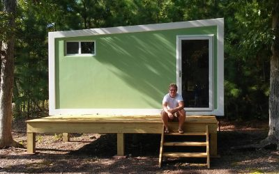 Bayside Tiny Homes, known for using SIPs and fiberglass cladding on THOWs, will be at the May Tiny House Expo in Virginia