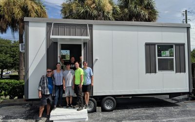 Real estate investor, owner of Trekker Trailers, and former city planner collaborate to offer affordable tiny housing and a stunning waterfront village