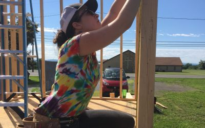 See this mother-daughter duo's DIY tiny house at the Tiny House Expo October 6-7
