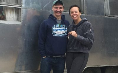 Young couple is rehabbing a classic Airstream so they can hit the road, inspire people of color