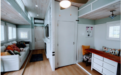 Agape House, which appeared on Tiny House Nation in 2018, will be at Philly show