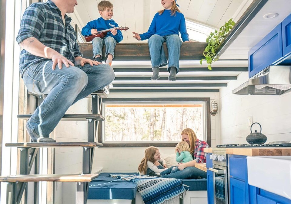 Willowbee:  Join us at the Philly show and see how 6 people live in 700 square feet!